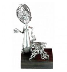 Sculpture: La sirène - Toulhoat