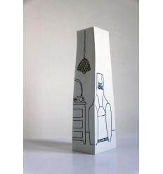 inside - out ! vase en porcelaine