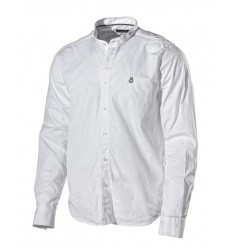 Chemise blanche sans col Holebrook