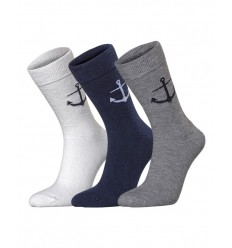 Chaussettes Ancre set/3 paires  HOLEBROOK
