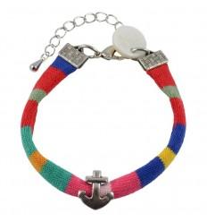 """Bracelet Marinière *"""" MIF """"* / charme de Lorient !"""