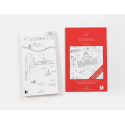 Carte de LA SUISSE - DIE SCHWEIZ / Poster à colorier