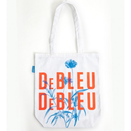 "Bag / sac à courses ""de bleu de bleu"""