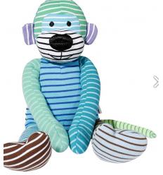 Kokki mon premier doudou singe de Geggamoja