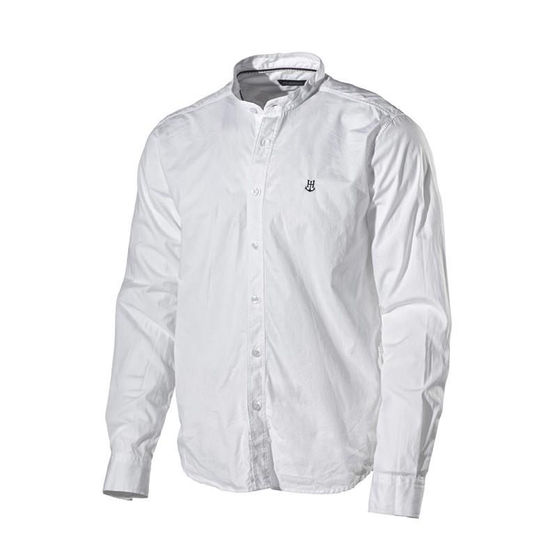k line chemise blanche sans col holebrook. Black Bedroom Furniture Sets. Home Design Ideas