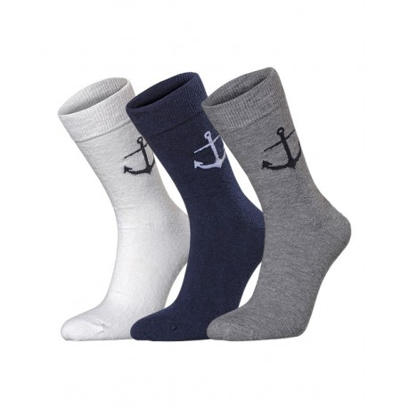 Chaussettes Ancre / Big Anchor socks Holebrook