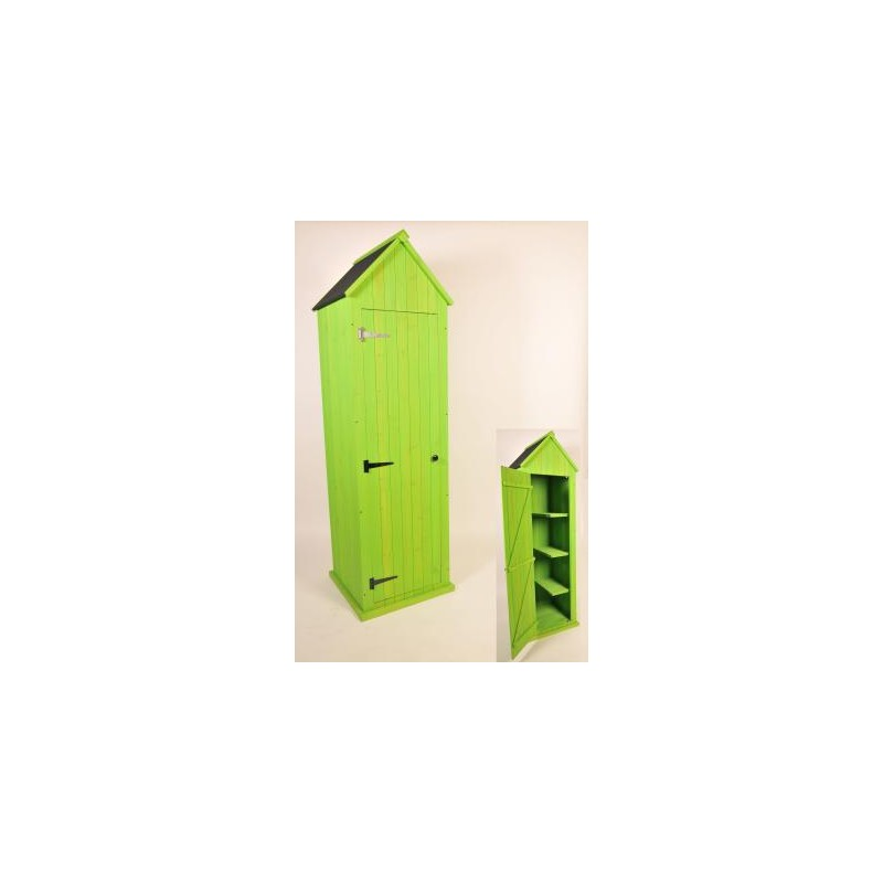 k line armoire cabine de plage en bois avec toit. Black Bedroom Furniture Sets. Home Design Ideas