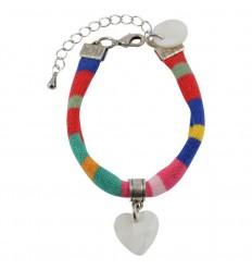 Bracelet Made in Marinière charme de Lorient !