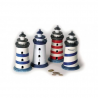 Tirelire Crousille Phare set/4 phares