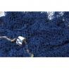 Filet de pêche bleu