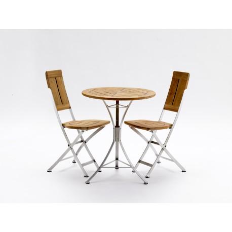 Table à café en teck intérieur extérieur by Kircodan Danemark