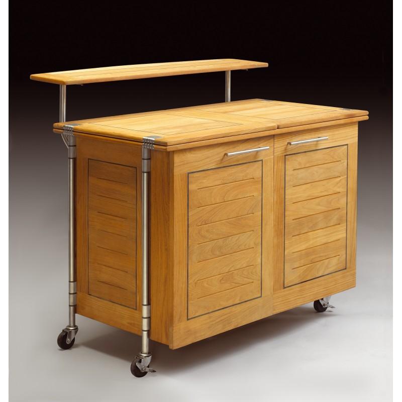k line meuble bar comptoir en teck de kircodan danemark. Black Bedroom Furniture Sets. Home Design Ideas