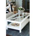 Table de salon Gavin White Coffee Table