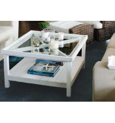 Table de salon Ralph 50 White Coffee Table