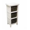 Table de chevet / 1-door White side table
