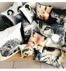 Coussin BB petits animaux