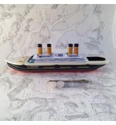 TITANIC Bateau vapeur pop-pop