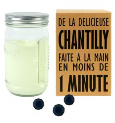 Shaker à crème Chantilly CREAZY by COOKUT
