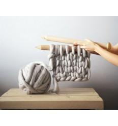 Pelote de 1kg de laine 100% mérino ASHFORD Nouvelle-Zélande