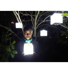 Lampe solaire LED Solarpuff de SOLIGHT