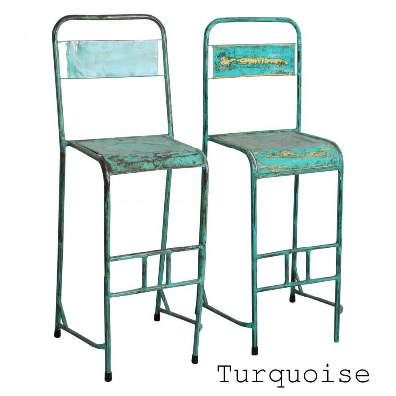 chaise de bar originale de bistro de provenance indon sie java. Black Bedroom Furniture Sets. Home Design Ideas