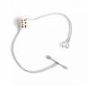 Collier, boucles d'oreilles et bracelets Dés