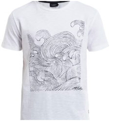 T-shirt La VAGUE / Wave Tee de Holebrook