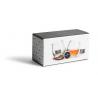 Verres à whisky set/2 avec 2 glaçons pierre ollaire / Whiskey glasses