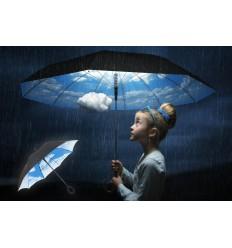 Parapluie SKY du MOMA Parapluie Ciel bleu SKY