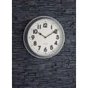 Horloge murale XXL en acier galvanisé