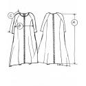 Robe d'été MILDA en 100% lin de Lituanie
