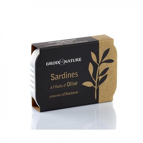 Sardines Huile d'Olive Groix et Nature