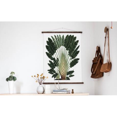 Cacatoes, pélican et palmier du Voyageur