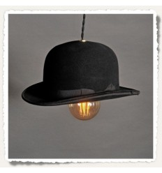 Lampe Chapeau melon suspension