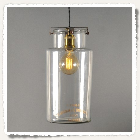 Lampe Suspension Pot d'Herboriste de Pharmacie