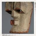 Masque Le Baiser de la tribu Songye du Kongo