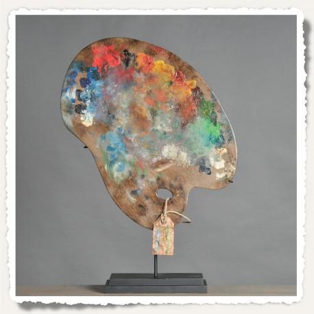 Palette Cézanne Palette de peintre