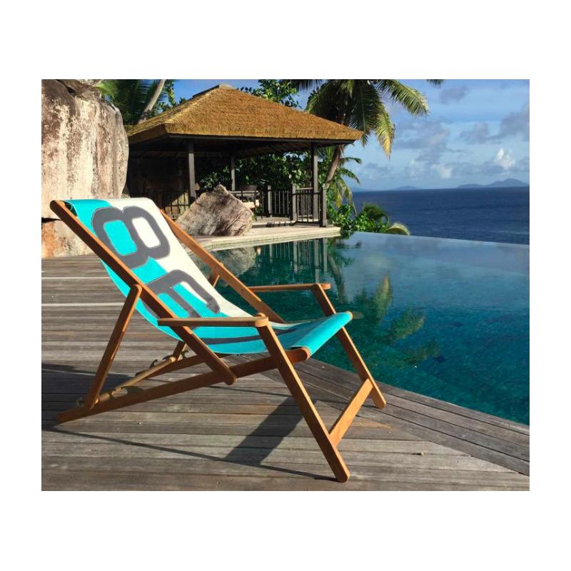 De Transat Deck Toile Recyclée Rocking Voile Sails Green 727 Chair 8wO0vmyNn