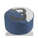 POUF en toile de voile recyclée 100% 727 sailbags