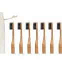 8 Brosses à dents en bambou issu de forêts gérées durablement