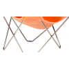 Pied Chromé BUTTERLFLY Chair Cuero