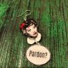 Boucles d'oreilles ZARI Humour Collection