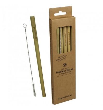 Pailles en bambou Bamboo Straws ZuperZoZial