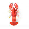 HOMARD rouge WALL DECO 3D RED LOBSTER
