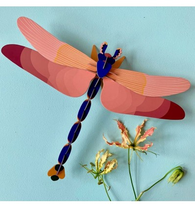 Libellule GIANT DRAGONFLY décoration murale
