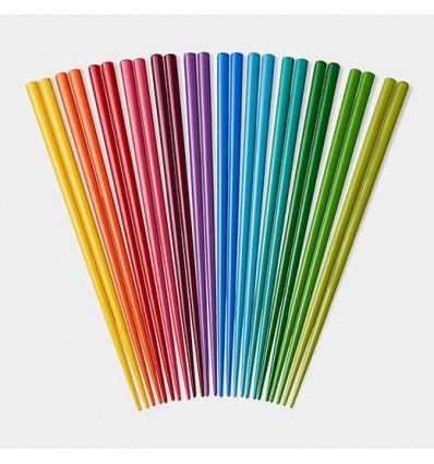 Rainbow Chopsticks Set /12 paires de baguettes MoMA