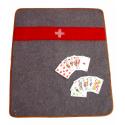 Tapis de jeu / Couverture militaire Suisse originale