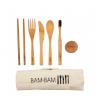 BAM BAM Kit repas en bambou issu de forêts gérées durablement