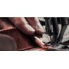 Vide poches bordure cuir Karlen 100% Swiss made au Valais