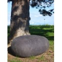Rock Cushion / pouf galet - taille large